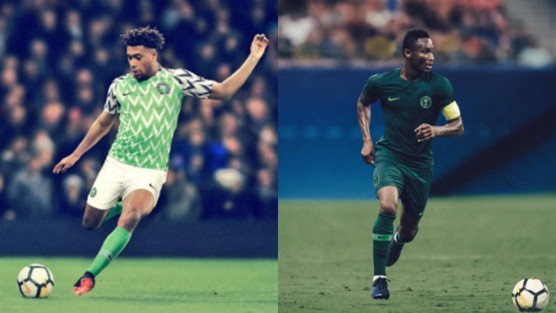 2018 World Cup Jerseys Nigeria