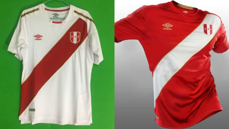 2018 World Cup Jerseys Peru
