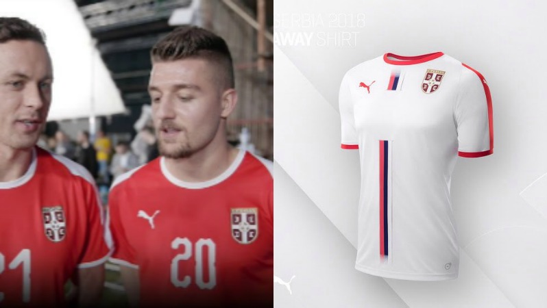 2018 World Cup Jerseys Serbia