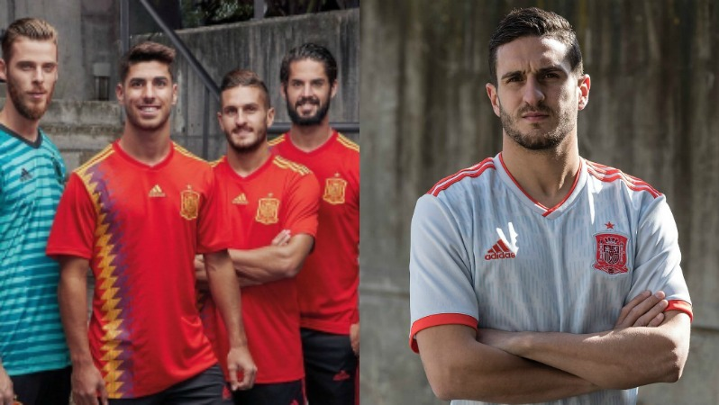 2018 World Cup Jerseys Spain