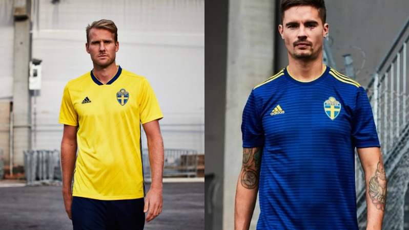 2018 World Cup Jerseys Sweden