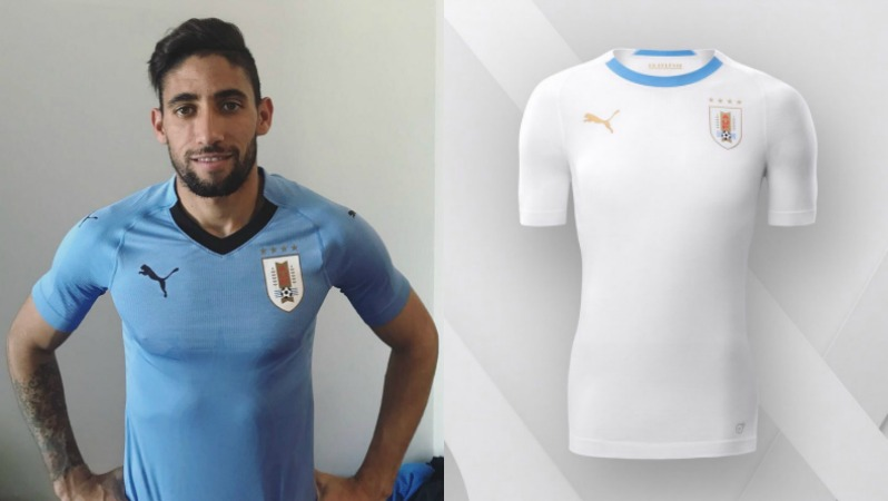 2018 World Cup Jerseys Uruguay