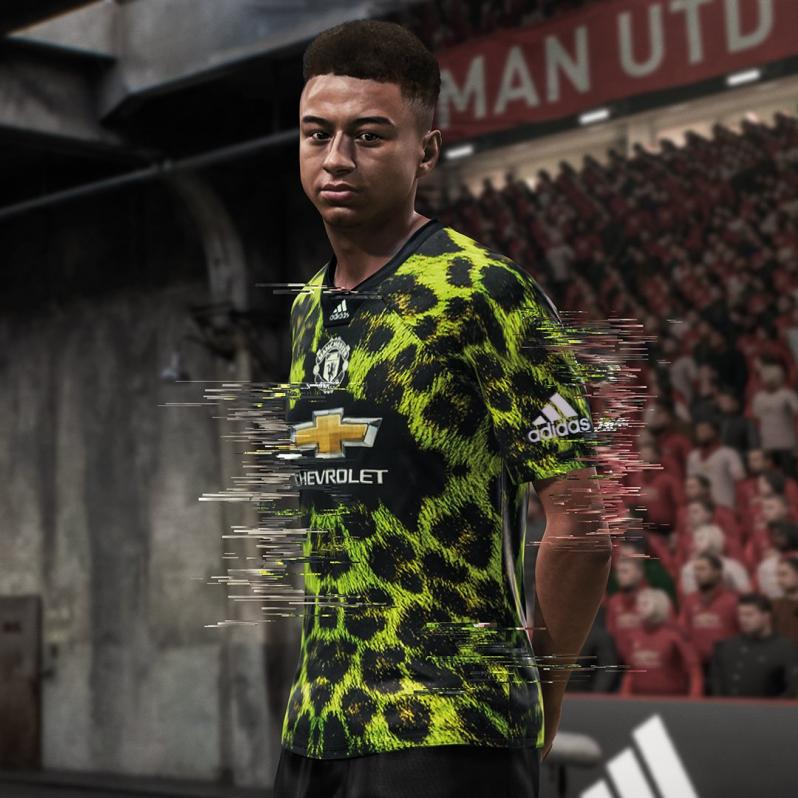 Manchester United EA Sports jersey