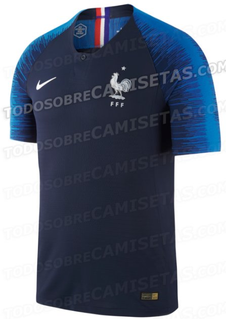 France 2018 World Cup jersey