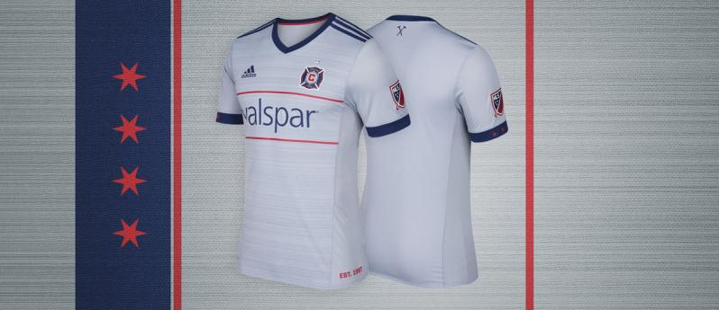 Chicago Fire MLS Jerseys