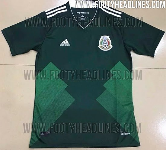 Mexico World Cup jersey