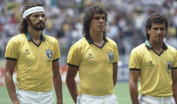 Best World Cup Jerseys Of All Time - Brazil 1986