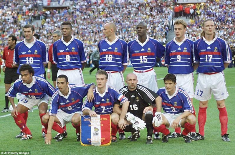 Best World Cup Jerseys Of All Time - France 1998