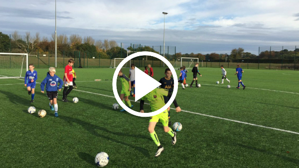 One drill every youth coach needs to teach possession