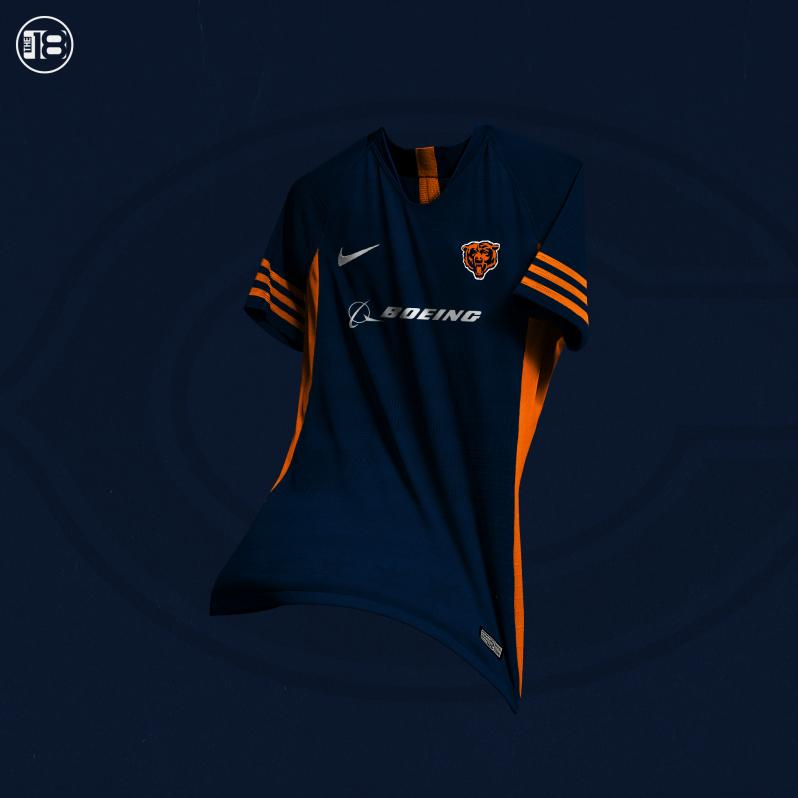 Chicago Bears Soccer Jersey