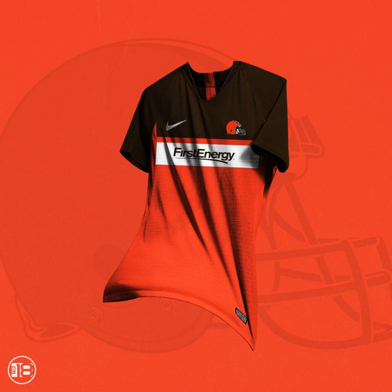 Cleveland Browns Soccer Jersey