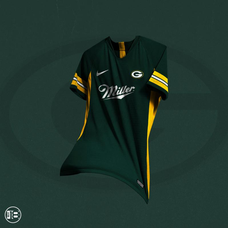 Green Bay Packers Soccer Jersey
