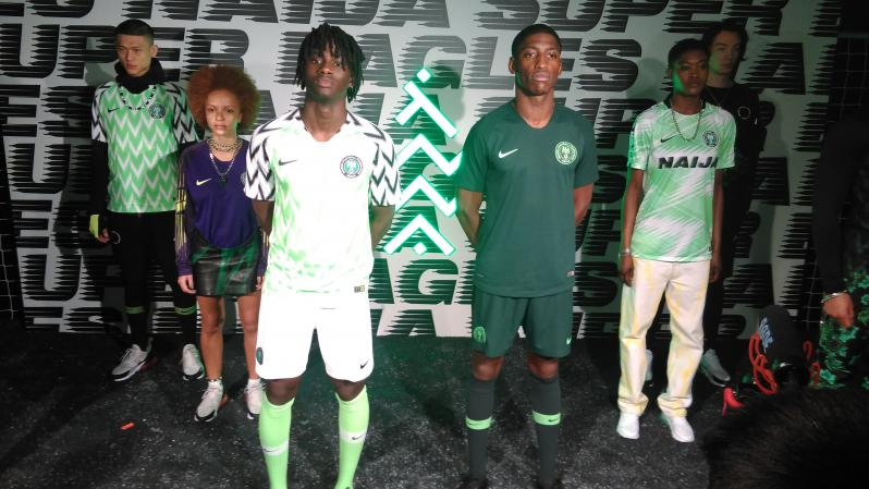 Nigeria 2018 World Cup Kits