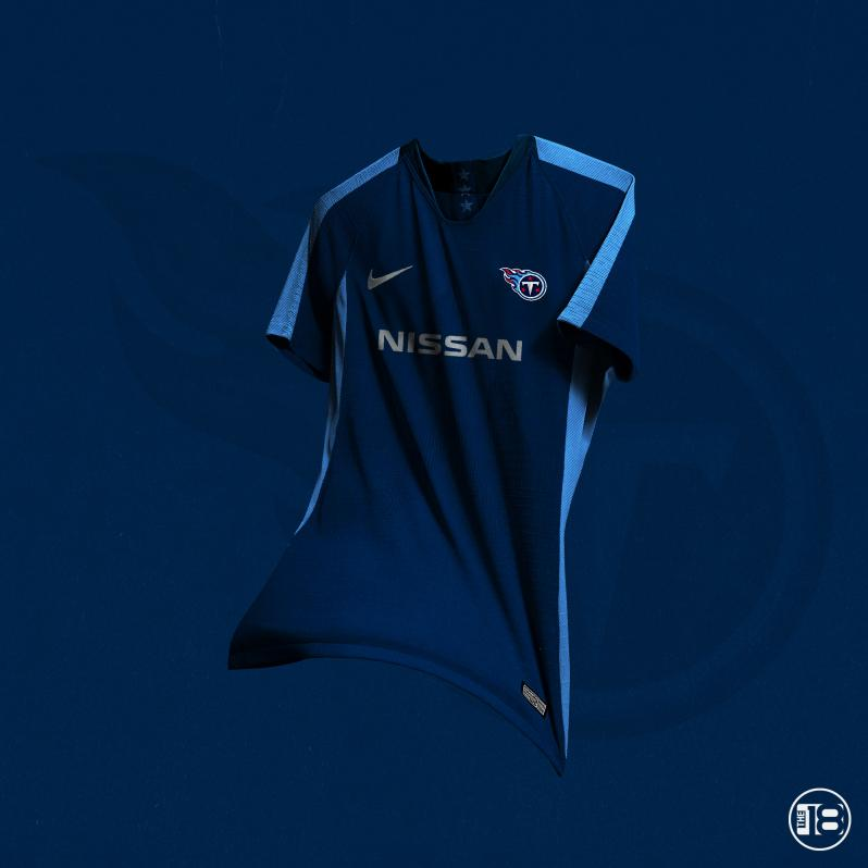 Tennessee Titans Soccer Jerseys