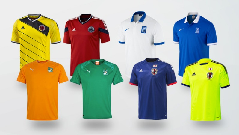 World Cup Jerseys Group C