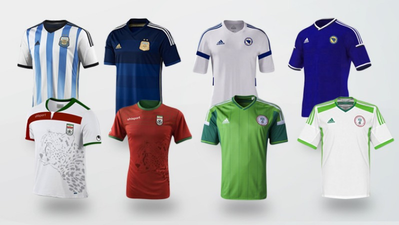 World Cup Jerseys Group F