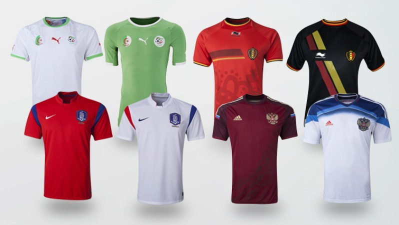 World Cup Jersey Group H
