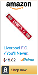 Best Soccer Gifts - Liverpool Scarf
