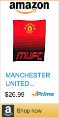 Best Soccer Gifts - Manchester United Blanket