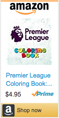 Best Soccer Gifts - Premier League Coloring Book