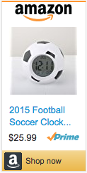 Best Soccer Gifts Premier League - Soccer Ball Alarm Clock